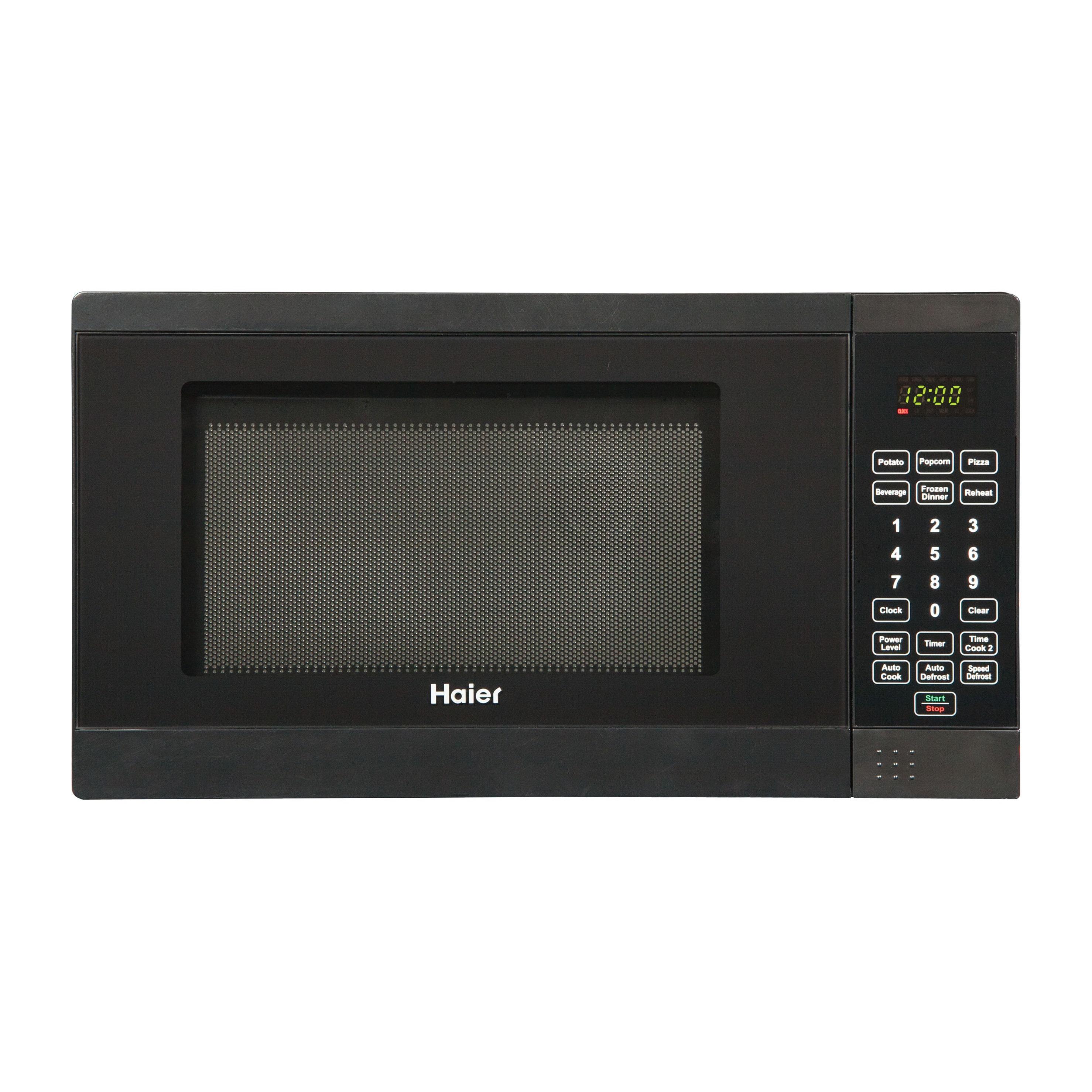 Haier 0 7 Cu Ft Microwave Oven Walmart Com