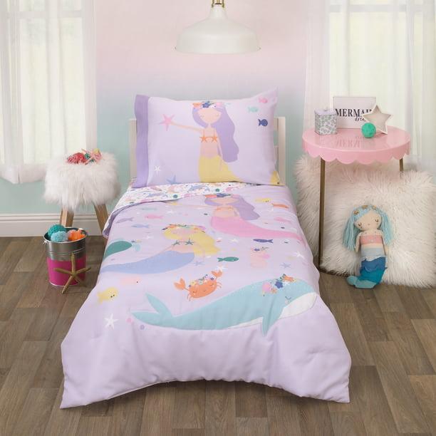 Piece Toddler Bedding Set, The Little Mermaid Toddler Bedding