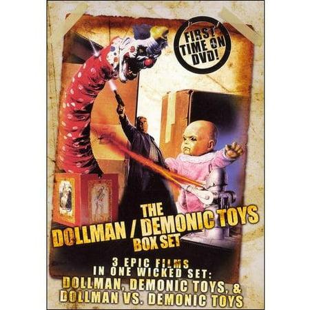 The Dollman And Demonic Toys Box Set: Dollman / Demonic Toys / Dollman Vs. Demonic Toys (Halloween Box Set Cheap)