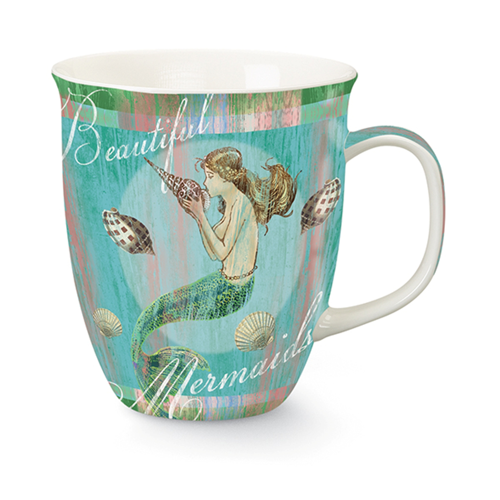 Mermaid Dreams Ocean Treasures 16 Ounce Coffee Latte Tea Harbor Mug