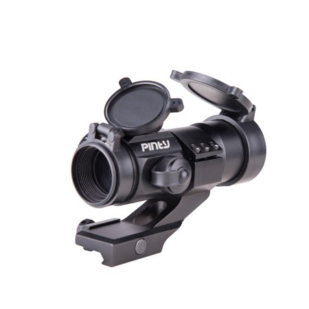 Pinty Tactical Reflex 4 Moa Red   Green Dot Sight Scope With Pepr Rail Mount