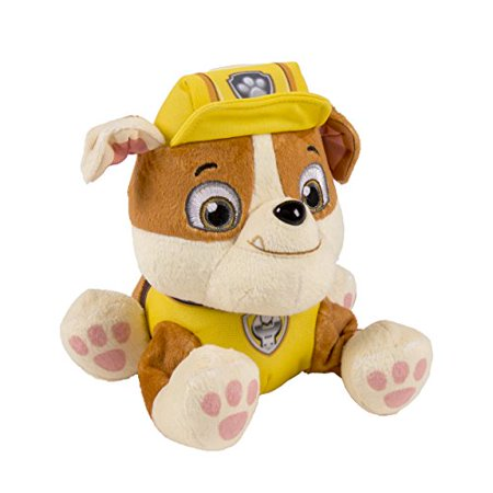 Nickelodeon, Paw Patrol - Plush Pup Pals- - Paw Patrol Rubble