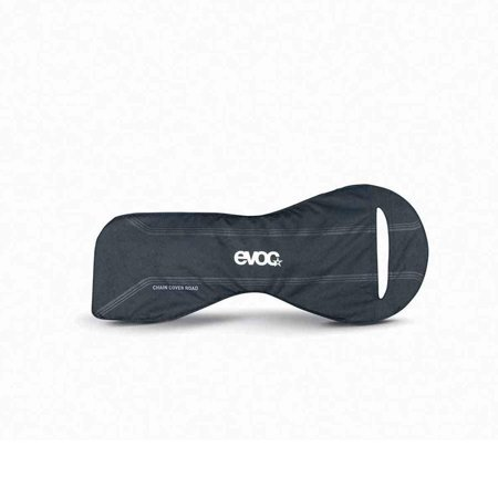 Evoc Chain Cover, Fits Most Road and Mountain Bikes, Black, Protect Your Bike During Travel (Road Bike Chain Cover)