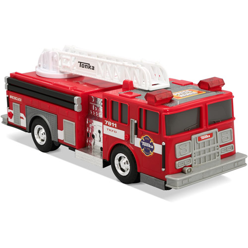 Tonka Light and Sound Fire Truck and Fire Pickup Vehicle 2-Pack