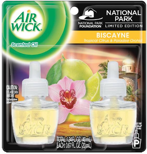 Air Wick Plugins Tropical Citrus & Paradise Orchid 0.67 oz. (Pack of 2)