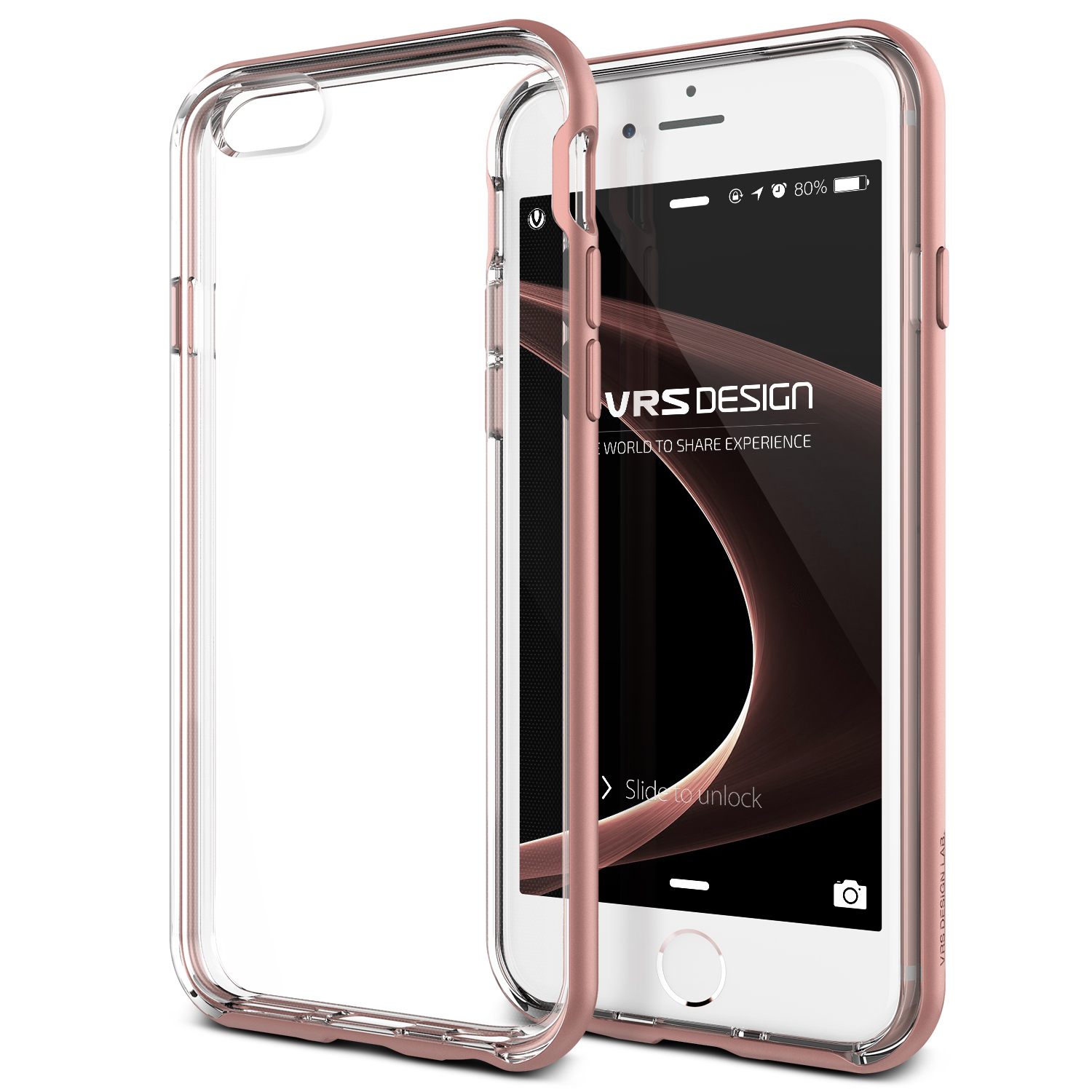 iPhone 6S Case Cover | Clear TPU with Rugged Protection | VRS Design Crystal Bumper for Apple iPhone 6S