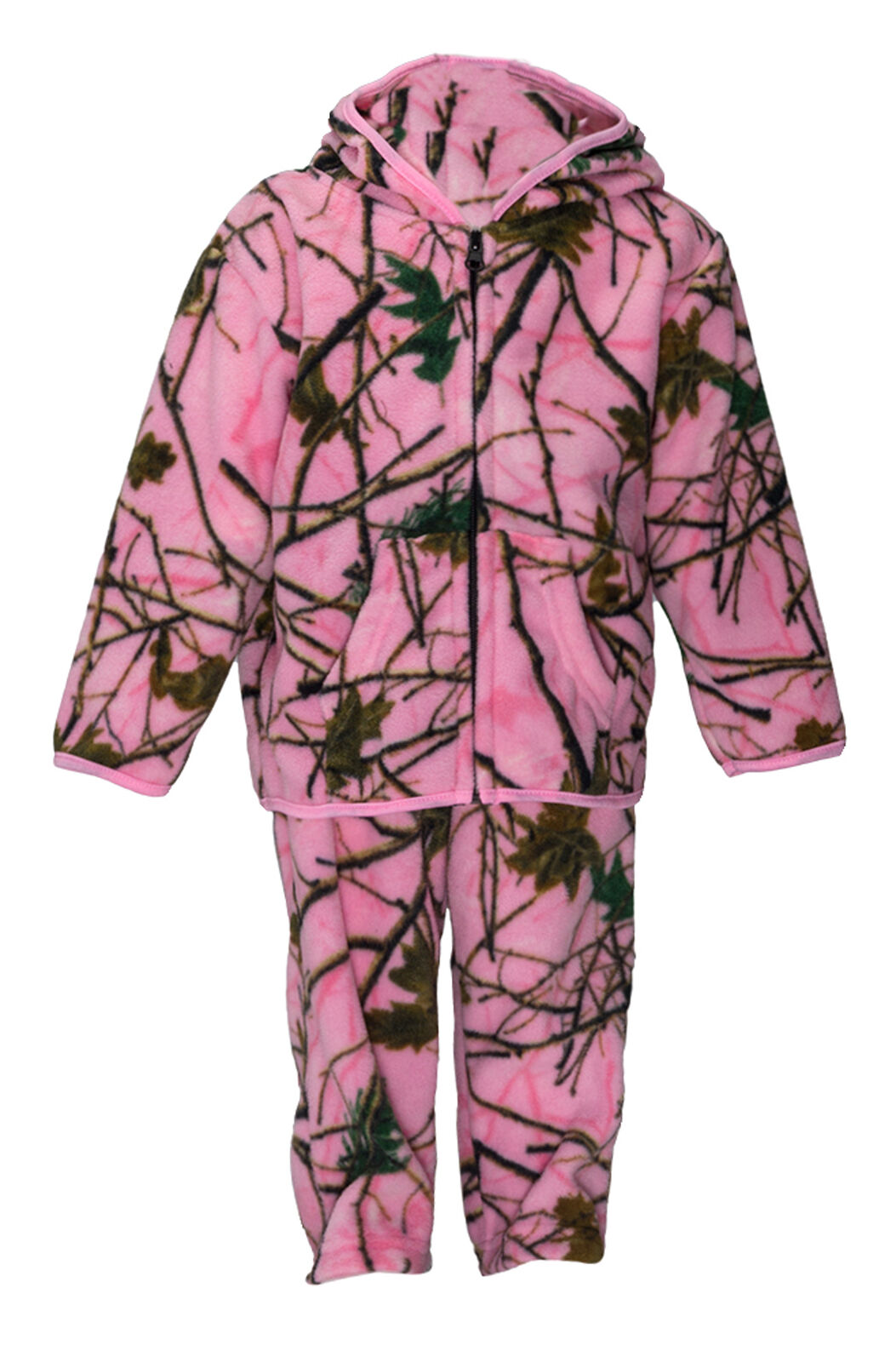 Trail Crest Baby Toddler Hooded Tunic Dress Highland Timber Pink Camo 5T