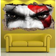 Startonight 3D Mural Wall Art Photo Decor Bad Boy Amazing Dual View Surprise Wall Mural Wallpaper Bedroom Movies Large 47.24 '' By 86.61 ''