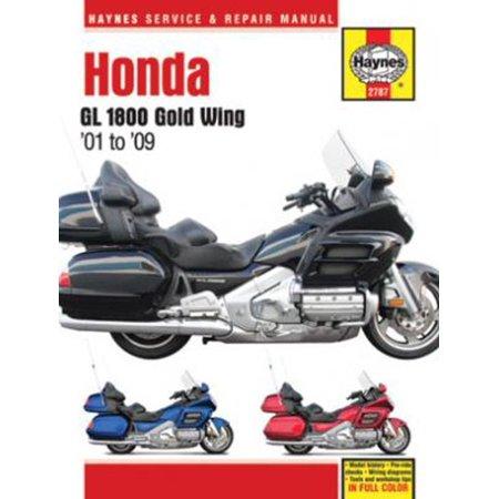 Honda GL 1800 Gold Wing Haynes Repair Manual (Subaru Gl Manual)