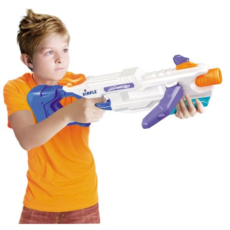 Three Stream Crossbow Super Soaker Water Gun by Dimple - Black Water Gun