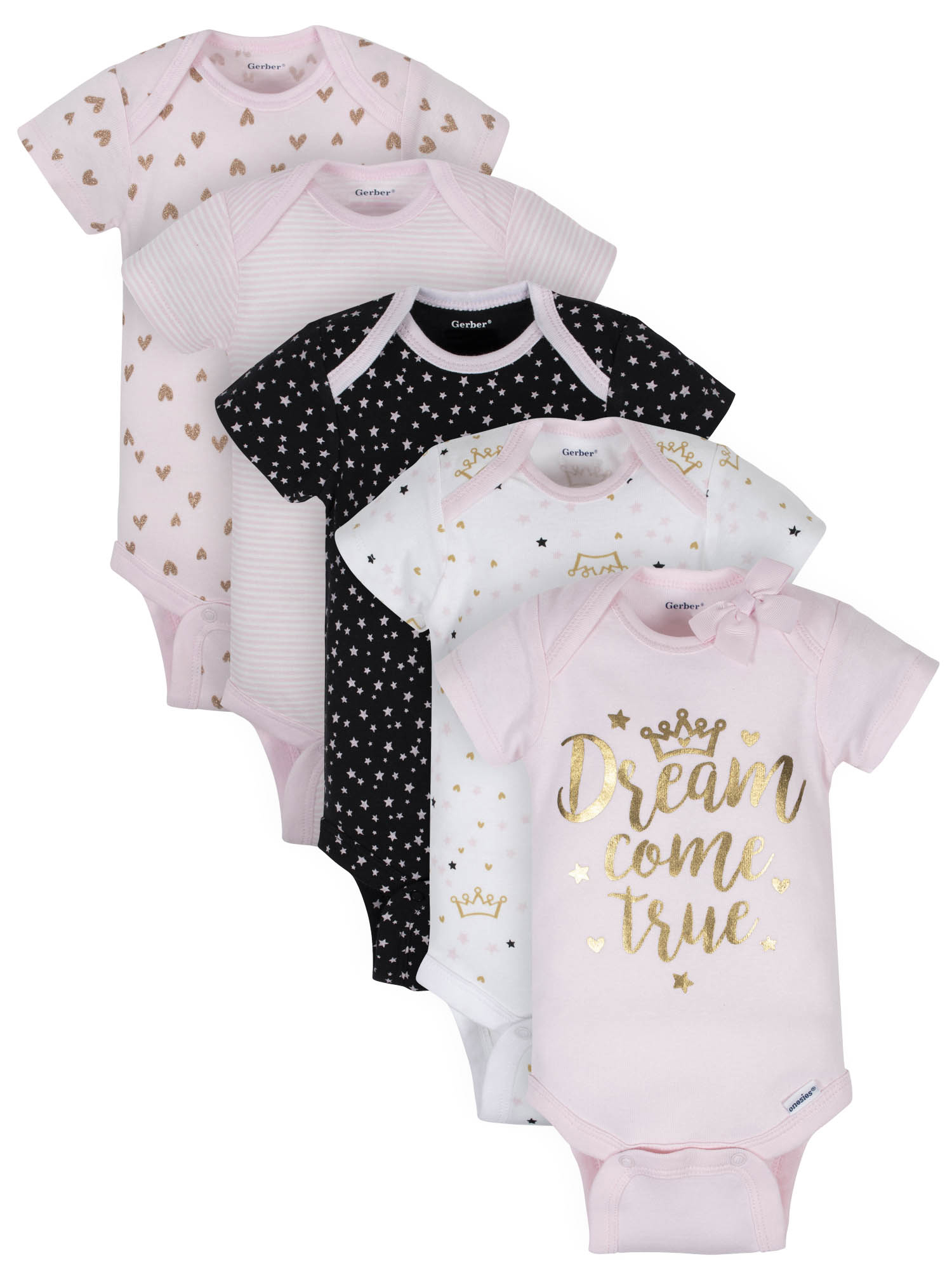Gerber Organic Bodysuit & Pant Set (Baby Girls)