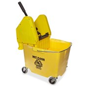 Impact Products Pressure Wringer bucket Combo Plastic, Polypropylene, Polyethylene Yellow (4y-2635-3y) by Impact Products
