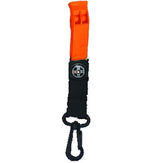 Sea Elite Marine Whistle with Webbing Clip Compass