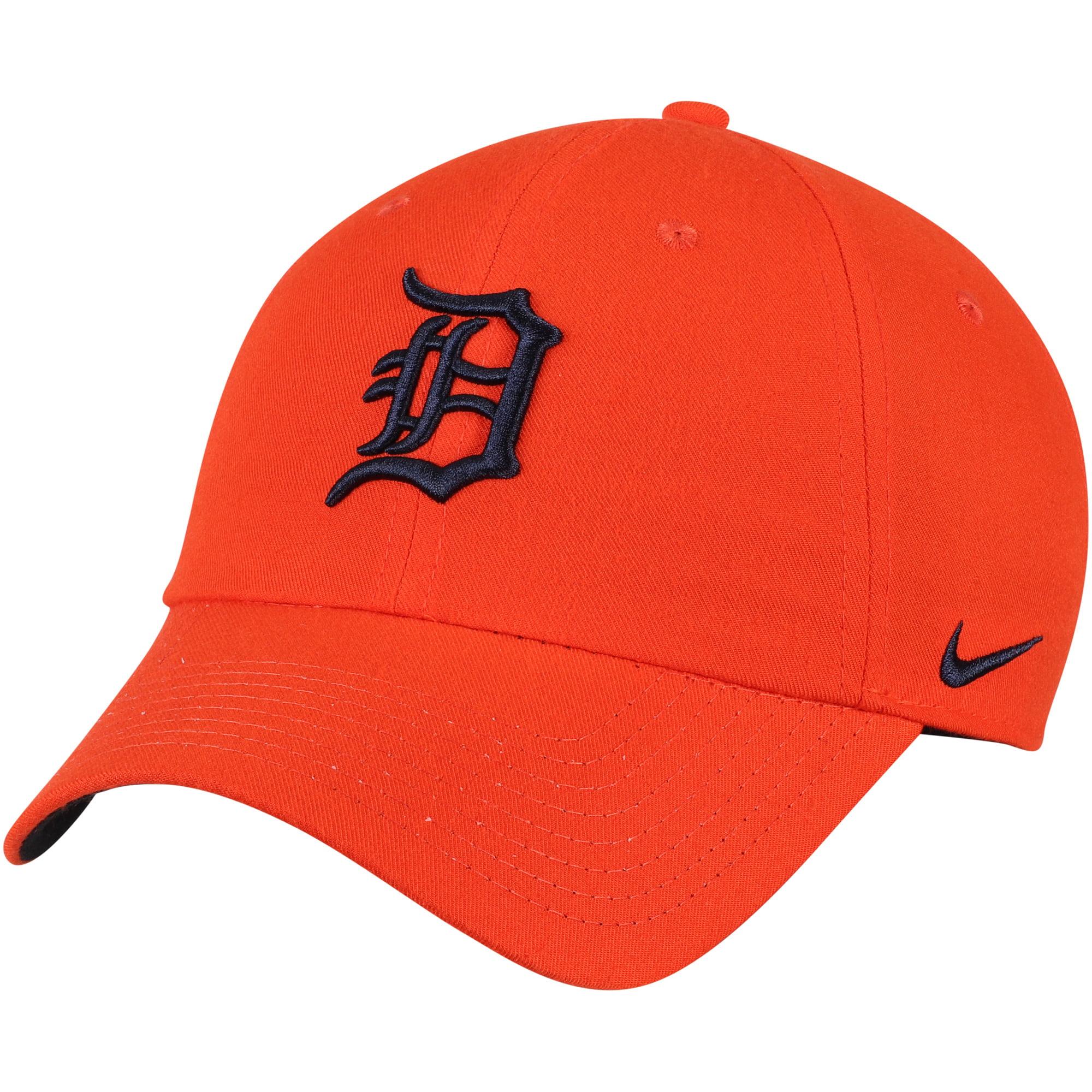 Detroit Tigers Nike Heritage 86 Stadium Performance Adjustable Hat - Orange - OSFA