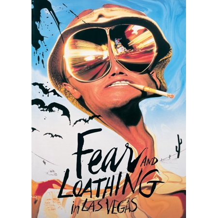 Fear And Loathing In Las Vegas  - Movie Poster / Print (Regular Style / Johnny Depp) (Size: 24