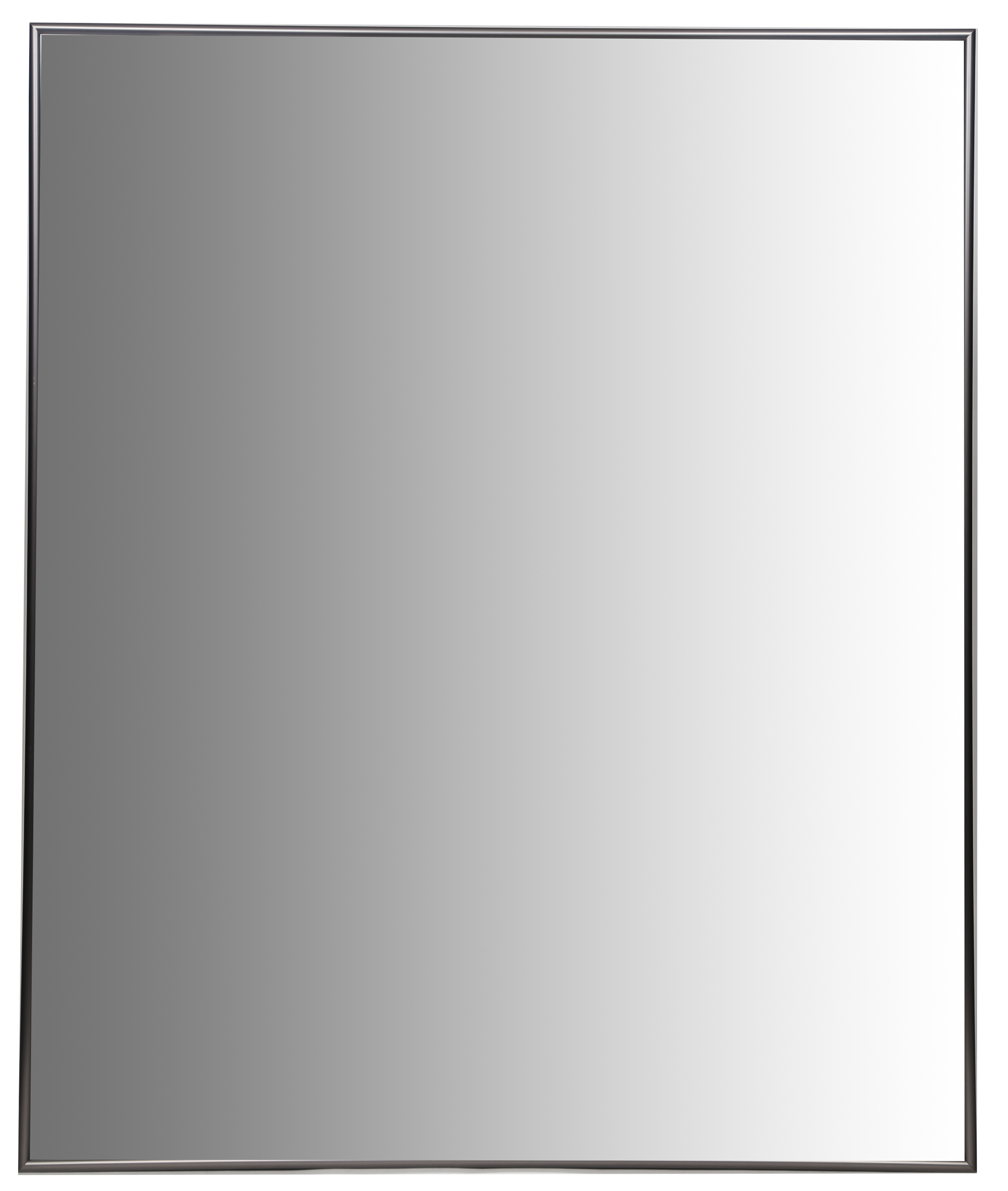 "Click here to buy 24""x30"" Nickel Aluminum Vanity Mirror, with 3 8 Wide Moulding by Pinnacle."