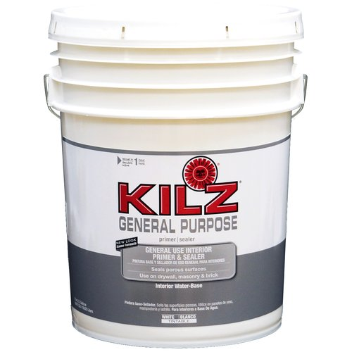 Kilz General Purpose Interior Primer and Sealer, 5 gal