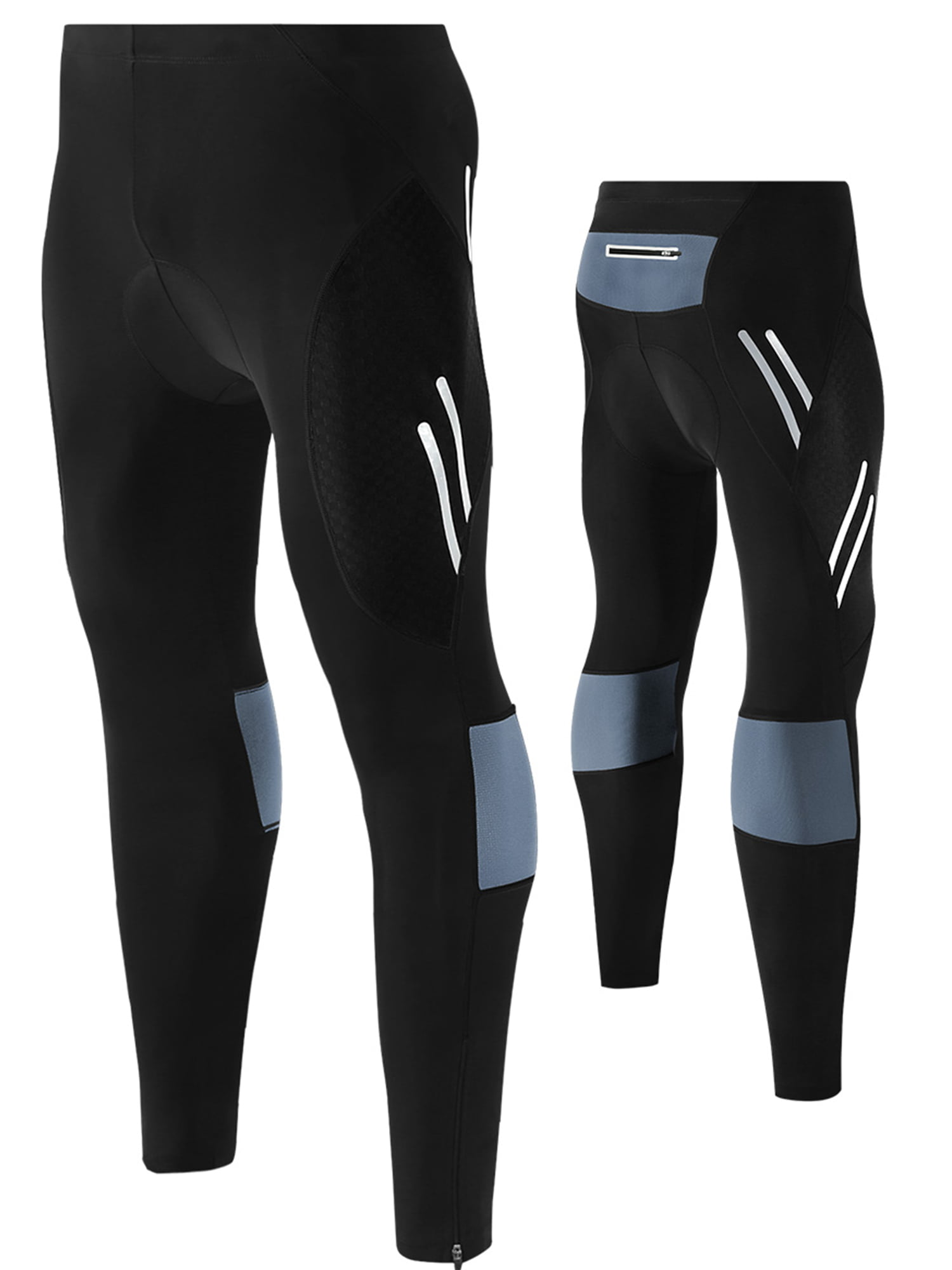 FEIXIANG Mens Cycling Tight Pants 4D Padded Bicycle Riding Compression Leggings Bike Clothes Cycle Wear Sport Tights