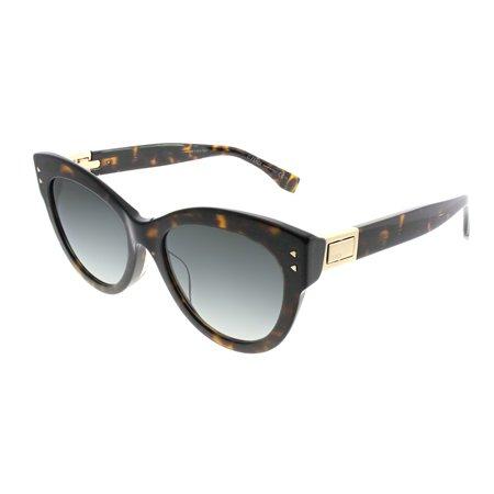 sunglasses fendi ff 282 /f/s 0086 dark havana / 9o dark gray gradient lens