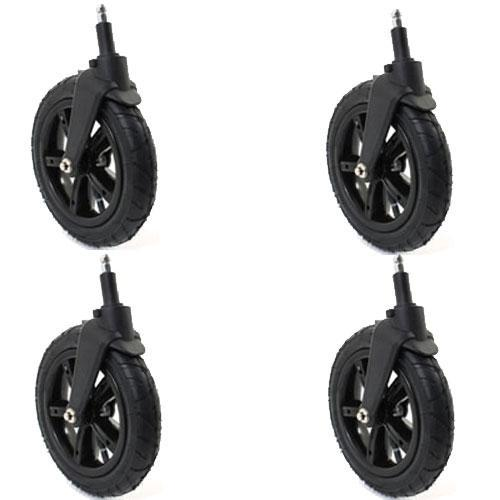 Valco Baby Snap 4 Snap Ultra Air Tire Kit (2 front, 2 rear) - Black