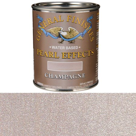 Pearl Finish Porcelain - General Finishes Champagne Pearl, Pint