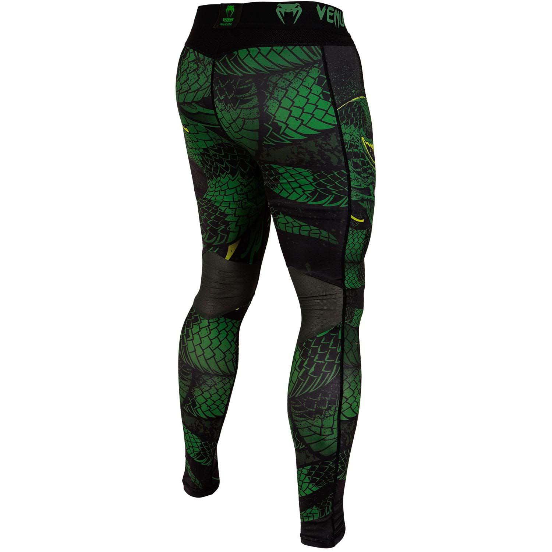 Venum Men/'s Green Viper Spats MMA BJJ Black//Green