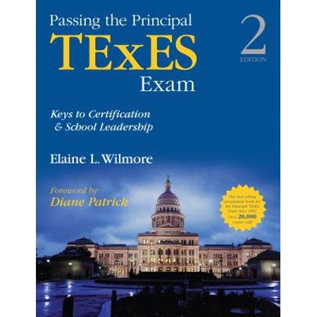 Passing The Principal Texes Exam  Keys To Certification   School Leadership