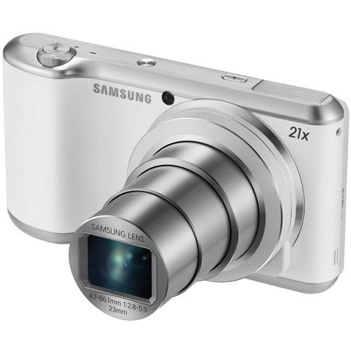 Samsung White Galaxy 2 GC200 WiFi Android Digital Camera with 16.3 Megapixels and 21x Optical Zoom