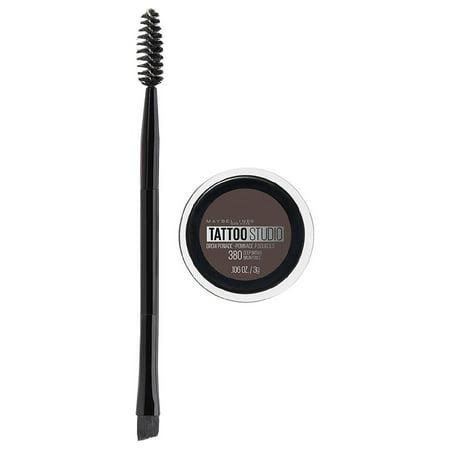 Pack of 6-Maybelline TattooStudio Brow Pomade Eyebrow Makeup, Deep Brown0.11