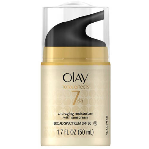 Olay Total Effects 7-in-1 Anti-Aging Daily Moisturizer with Sunscreen, SPF 30, 1.7 fl oz
