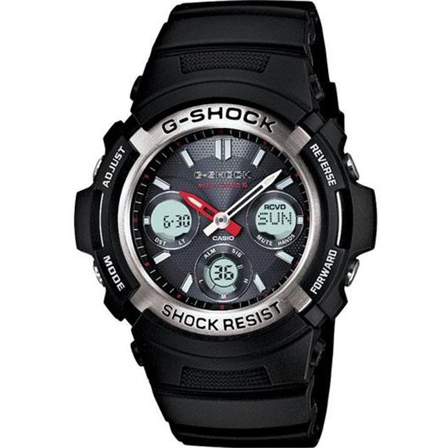 Casio G-Shock MB-6 AWGM100-1A Atomic Solar Ana-Digi Multi-Band 6 Wristwatch
