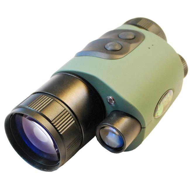 Luna Optics Hi-Resolution Wide-View Night Vision Monocular 3x42