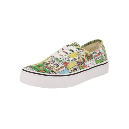 Vans Kids Authentic (Peanuts) Skate Shoe](Kids Vans On Sale)