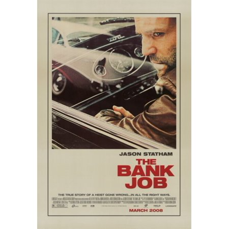 Bank Job The Movie Poster Print  27 X 40