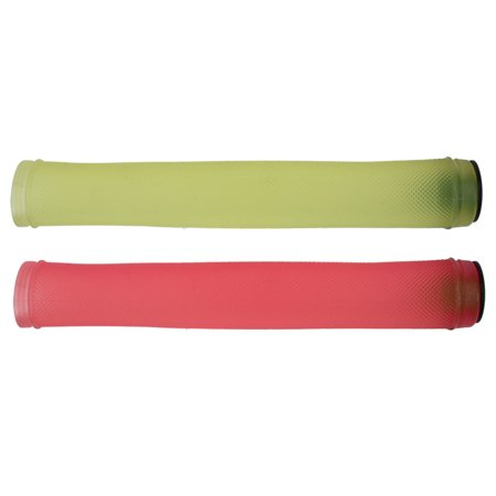 Origin8 Color Morph Grips YELLOW to RED 175mm Fixed Gear Track BMX