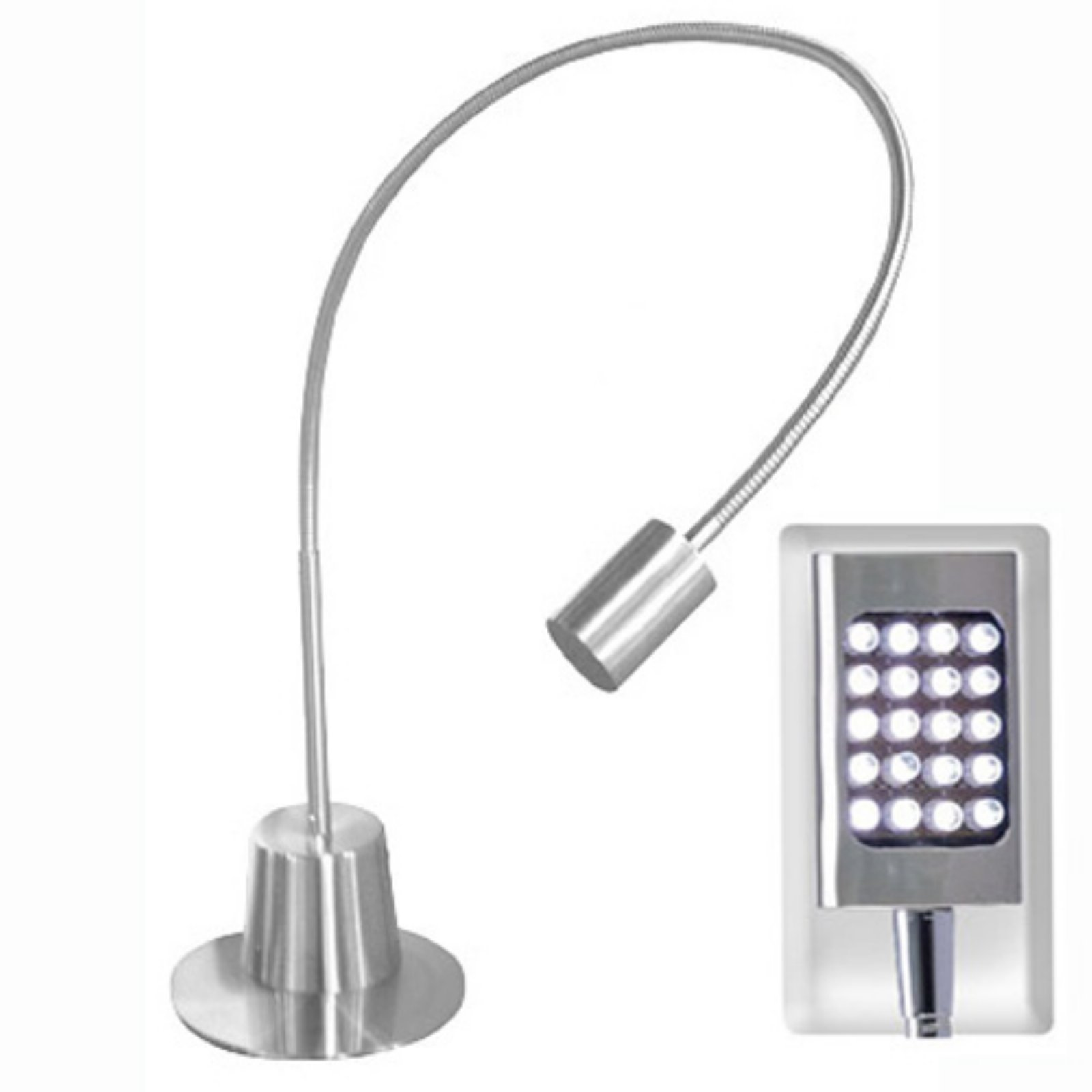 Adesso 5033-22 Eternity Extended Gooseneck LED Desk Lamp