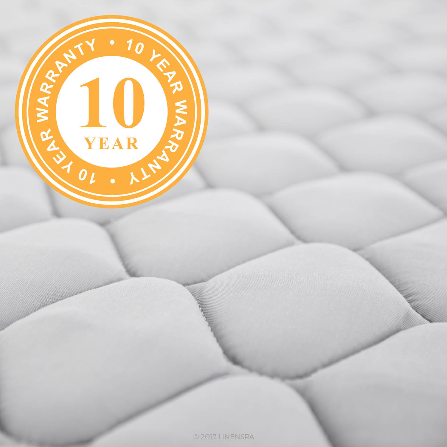 Linenspa 6 inch Innerspring Mattress in a Box Multiple Sizes