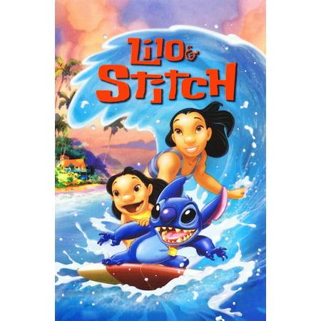 Lilo And Stitch Happy Birthday (Lilo & Stitch (2002) 27x40 Movie)