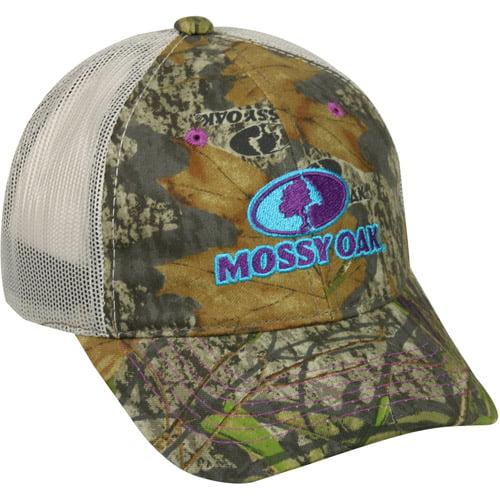 Women s Mossy Oak Mesh Back Cap be4d3765fb