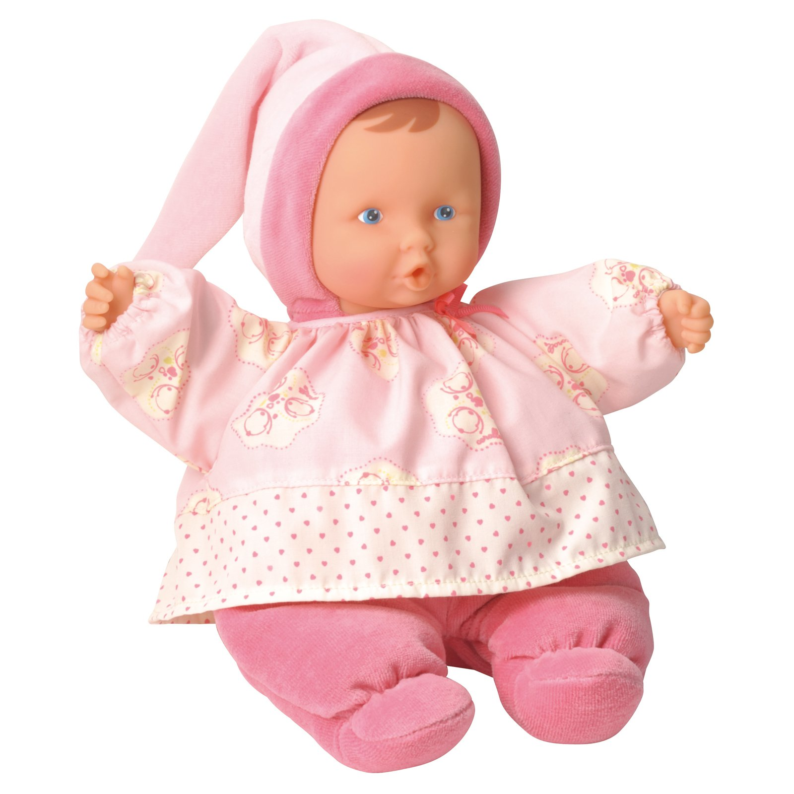 Corolle Barbicorolle Babipouce Pink Cotton Flower 11 in. Doll