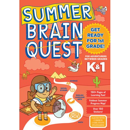 Summer Brain Quest: Between Grades K & 1 - Paperback