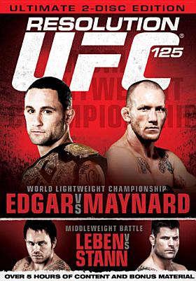 UFC 125 (DVD) by Ingram Entertainment