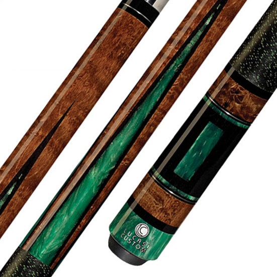 Lucasi Custom LZP30 Pool Cue Stick with Zero Flexpoint Lo...