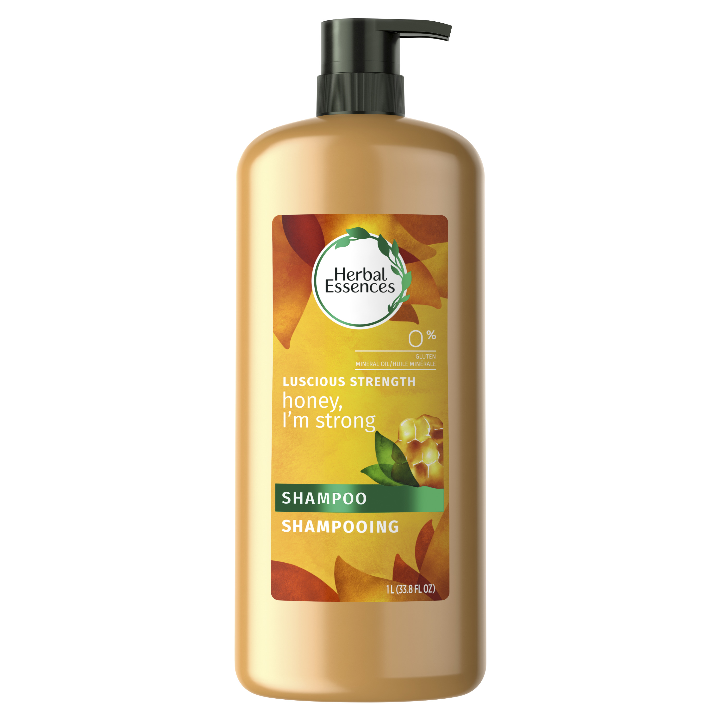 Herbal Essences Honey I'm Strong Strengthening Shampoo with Honey Essences, 33.8 fl oz