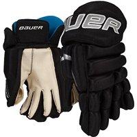 Bauer Prodigy Youth Hockey Gloves, 9 Inch, Black