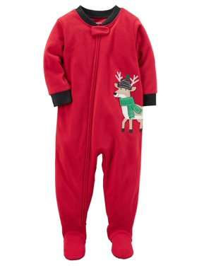 bb046200c Product Image Carter's Baby Boys' 1 Piece Reindeer Fleece, 12 Months