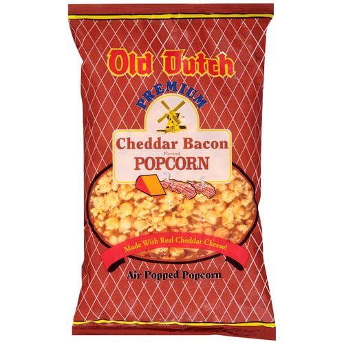 Old Dutch Premium Cheddar Bacon Flavored Popcorn, 6 oz