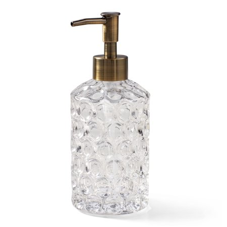Better Homes & Gardens Bubble Glass Hand Soap & Lotion Pump