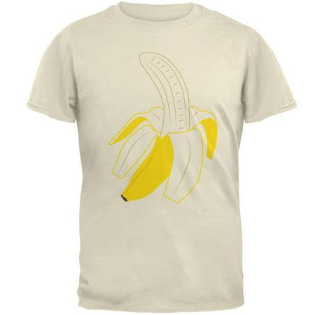 Halloween Fruit Peeled Banana Costume Mens T Shirt