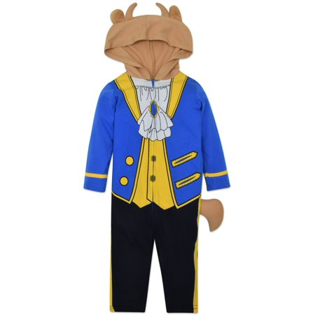 Disney the Beast Prince Baby Boys' Costume Coverall with Hood (Disney Characters Homemade Costumes)